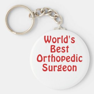 Worlds Best Orthopedic Surgeon Keychain