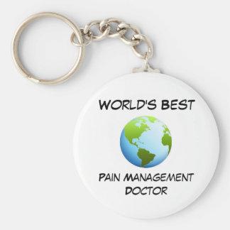 World's Best Pain Management Doctor Basic Round Button Keychain