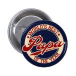 World's Best Papa 2 Inch Round Button