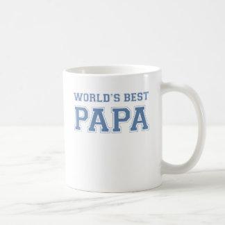 Worlds Best Papa Basic White Mug