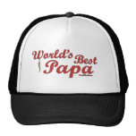 World's Best Papa Mesh Hat