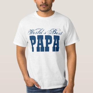 World's Best Papa T shirt