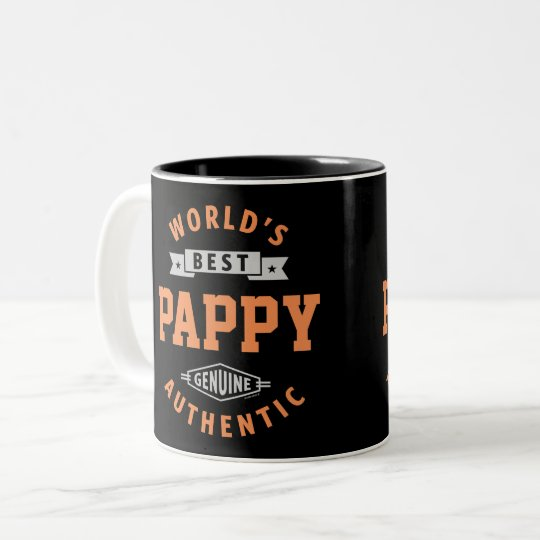World's Best Papi Two-Tone Coffee Mug