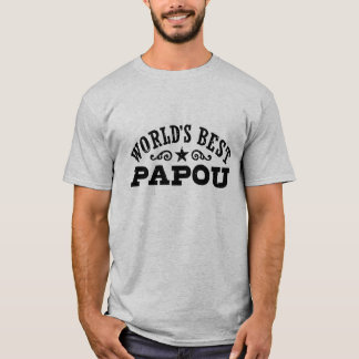 World's Best Papou T-Shirt