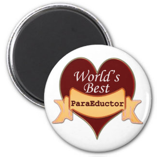 World's Best ParaEducator Magnet