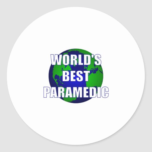 World's Best Paramedic Stickers