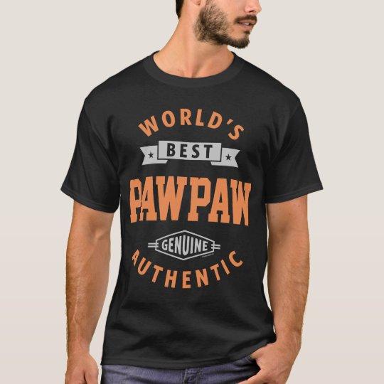 World's Best Paw Paw T-Shirt