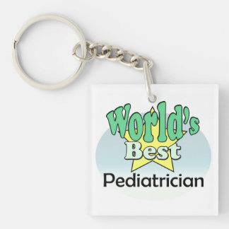 World's best Pediatrician Keychain
