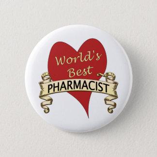 World's Best Pharmacist 2 Inch Round Button