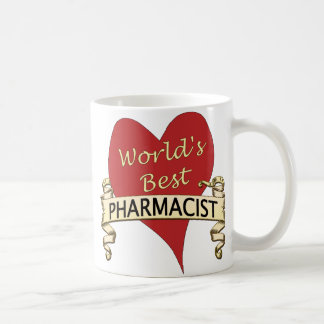 World's Best Pharmacist Classic White Coffee Mug