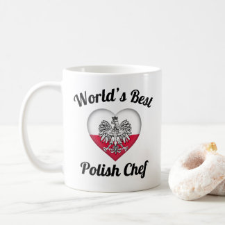 World's Best Polish Chef Coffee Mug