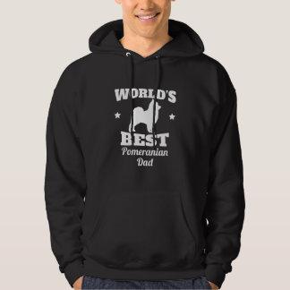 Worlds Best Pomeranian Dad Hoodie