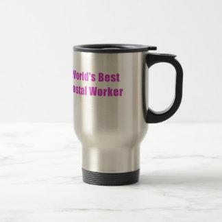 Worlds Best Postal Worker Travel Mug