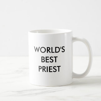 WORLD'S BEST PRIEST COFFEE MUG