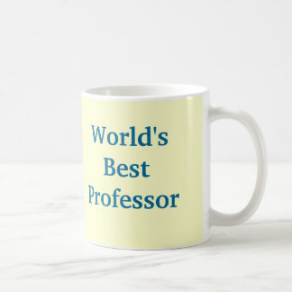 World's Best Professor mug