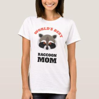 World's Best Raccoon Mom Cute T-Shirt