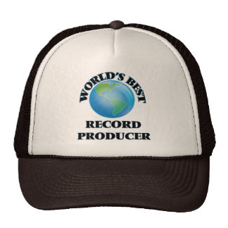 World's Best Record Producer Trucker Hat