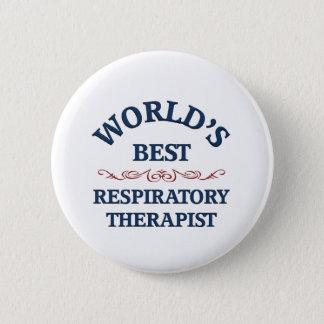 World's best Respiratory Therapist 2 Inch Round Button