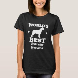 Worlds Best Rottweiler Grandma T-Shirt