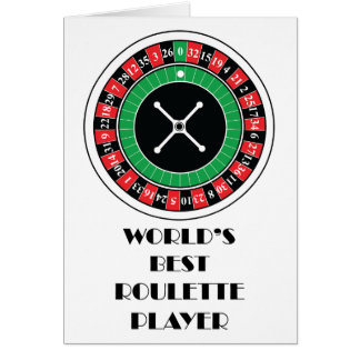 World's Best Roulette Player Card