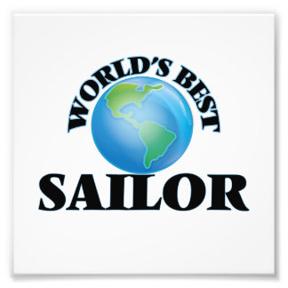 World's Best Sailor Photo Art