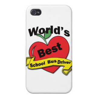 World's Best School Bus Driver iPhone 4 Covers
