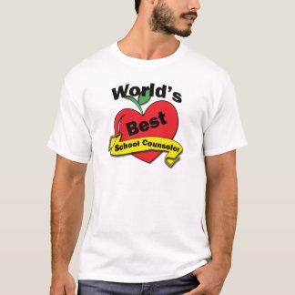 World's Best School Counselor T-Shirt