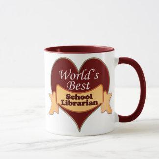 World's Best School Librarian Mug