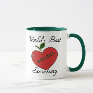 World's Best School Secretary Mug