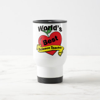 World's Best Science Teacher Travel Mug