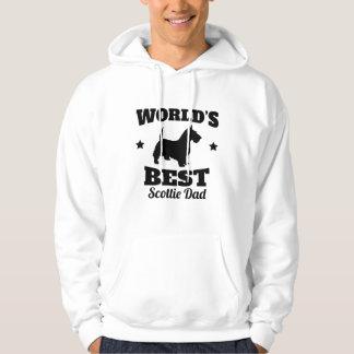 Worlds Best Scottie Dad Hoodie
