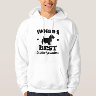 Worlds Best Scottie Grandma Hoodie