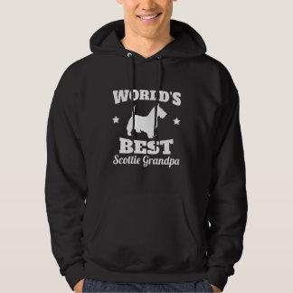 Worlds Best Scottie Grandpa Hoodie