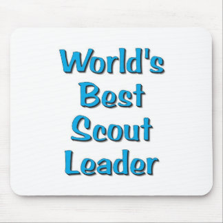 World's best Scout Leader merchandise Mouse Pad