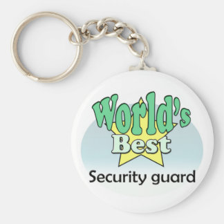 World's best Security guard Key Chain