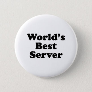 World's Best Server 2 Inch Round Button