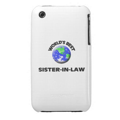 World's Best Sister-In-Law Case-Mate iPhone 3 Case
