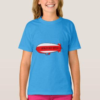 World's Best Sister with Blimp T-Shirt