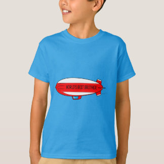 World's Best Sister with Blimp T-Shirt