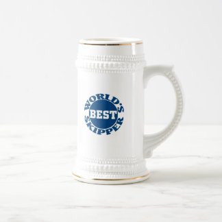 World's Best Skipper, World's Best Skipper 18 Oz Beer Stein
