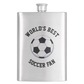 World's Best Soccer Fan Classic Flask