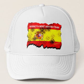Worlds Best Soccer Team Spain Hat