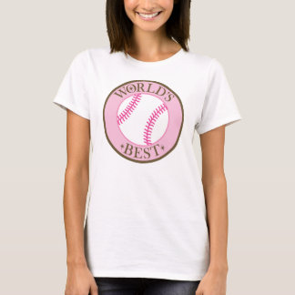 Worlds Best Softball Player T-Shirt
