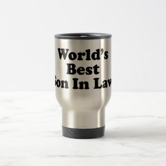 World's Best Son In Law Travel Mug