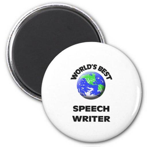 World's Best Speech Writer Magnet