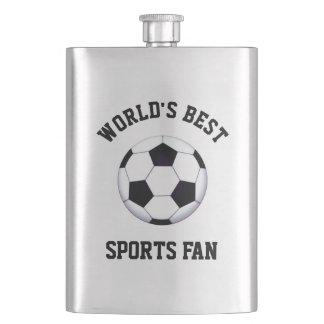 World's Best Sports Fan Classic Flask
