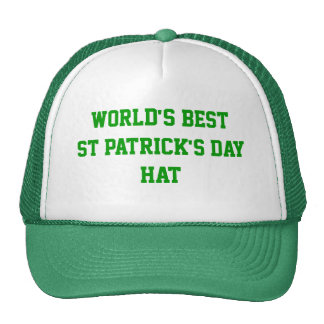 World's best St Patrick's day Trucker Hat