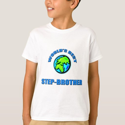 World's Best Step-Brothers T-shirt