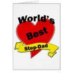 World's Best Step-Dad Greeting Cards