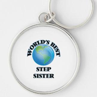 World's Best Step-Sister Keychains